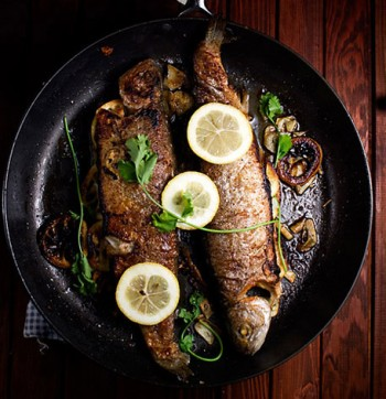 Lemon Garlic Fish